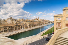 Cospicua waterfront Stock Photos