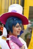 cosplay女孩 免版税库存照片