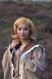 cosplay女孩 免版税库存图片
