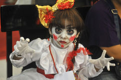 Cosplay竞争在印度尼西亚 库存照片