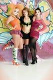 cosplay κορίτσια αστικά Στοκ Εικόνες