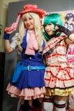 cosplay κορίτσια Στοκ Εικόνες