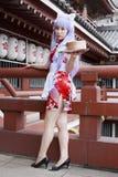 cosplay κορίτσι ιαπωνικά Στοκ φωτογραφία με δικαίωμα ελεύθερης χρήσης
