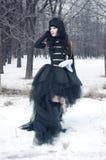 cosplay κορίτσι ομοιόμορφο Στοκ Εικόνες