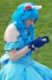 cosplay κορίτσι Στοκ Φωτογραφίες