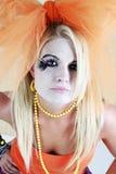 cosplay девушки Стоковое Изображение