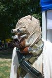 cosplay звездные войны воина Стоковые Фотографии RF