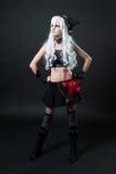 cosplay костюм девушки Стоковая Фотография RF