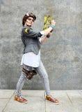 Cosplay Красивый Джек Сказы от пограничных полос стоковое фото