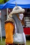 cosplay средневековый воин Стоковые Изображения RF
