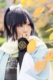 Cosplay年轻日本女孩 库存图片