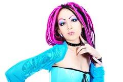 cosplay девушка Стоковая Фотография