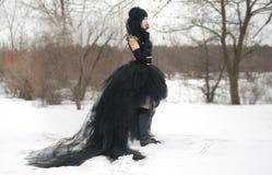 cosplay κορίτσι ομοιόμορφο Στοκ Εικόνα