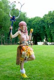 Cosplay. Parma, Italy. 11-12 June. Harajuku Girl at ParmaFantasy Stock Images