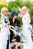 Cosplay-Anime-Japaner stockbild