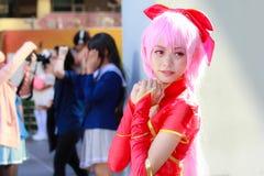 Cosplay-Anime-Japaner lizenzfreie stockfotografie