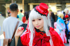 Cosplay Anime Japanese Stock Photos