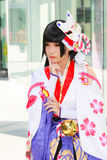 Cosplay Anime Japanese Royalty Free Stock Photography