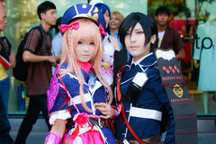 Cosplay Anime Japanese Stock Photo