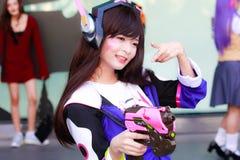 Cosplay Anime Japanese Royalty Free Stock Photo