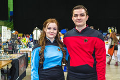 Cosplay as Star Trek characters Stock Images