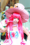 Cosplay 45. Bangkok - Jan 24: An unidentified Japanese anime cosplay pose  on January 24, 2016 at Central World, Bangkok, Thailand Stock Photography