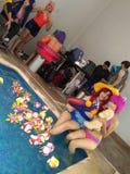 Cosplay basenu przyjęcia lol Obraz Stock
