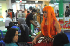 Cosplay Competition in Indonesia Stock Photo