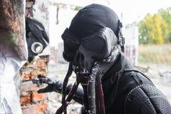 Cosplay del gioco dell'inseguitore del mostro della sanguisuga Immagine Stock Libera da Diritti