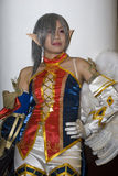 cosplay dräktspelrum arkivfoton