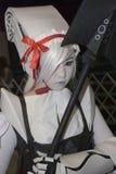 cosplay dräktspelrum royaltyfri fotografi