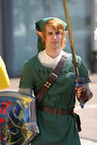 Cosplay elf Royalty Free Stock Images