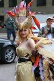 Cosplay fantazi kostium Obrazy Royalty Free