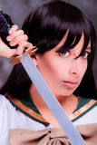 Cosplay girl Royalty Free Stock Photography