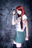 Cosplay girl Stock Images