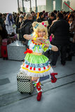 'PriPara' cosplay. Big Sight, Tokyo - December 30, 2014: Girl cosplaying as 'Mirei Minami' from the arcade game 'PriPara' at Stock Photography