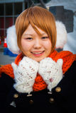 'LoveLive!' Cosplay Girl. Tokyo, Japan - December 30, 2014: Girl dressed as a character from 'LoveLive!' at Comiket.  Comiket is the world&# Royalty Free Stock Photos