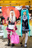 Cosplay - Harajuku Girl Stock Image