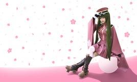Cosplay Japan anime Royalty-vrije Stock Afbeeldingen