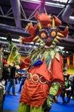 Cosplay legend av Zelda Royaltyfri Fotografi