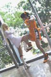 cosplay lekar för asia regel Fotografering för Bildbyråer
