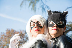 Cosplay in Lucca Stock Image