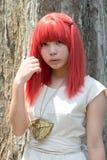 Cosplay-Mädchen Stockfoto