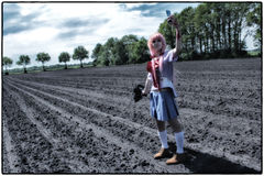 ``Cosplay: Mirai Nikki~Gasai Yuno`` royalty free stock photo