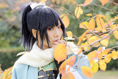 Cosplay młode japońskie dziewczyny Zdjęcie Royalty Free