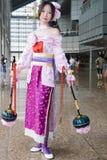 Cosplay para la convención Asia de los juegos Imagen de archivo