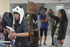 Cosplay rywalizacja w Indonezja Obraz Royalty Free