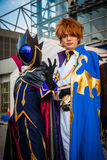 'Code Geass' Cosplay in Tokyo. Tokyo, Japan - December 30, 2014: Cosplayers dressed as characters from the anime 'Code Geass' at Comiket Stock Photography