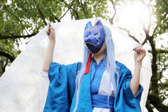 Cosplay young japanese girl Royalty Free Stock Photography