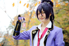 Cosplay young japanese girl Stock Images
